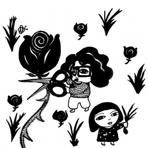 """Rose Garden"" from ""Mi Madre,"" a story about Lim's Puerto Rican step-mother."