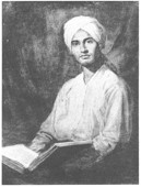 "Small image of ""Portrait of Dalip Singh Saund"""