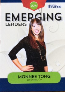 Image of Monnee Tong ALA Emerging Leader 2014.