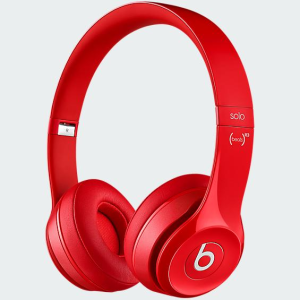 image of red Beats Headphones by Dr. Dre