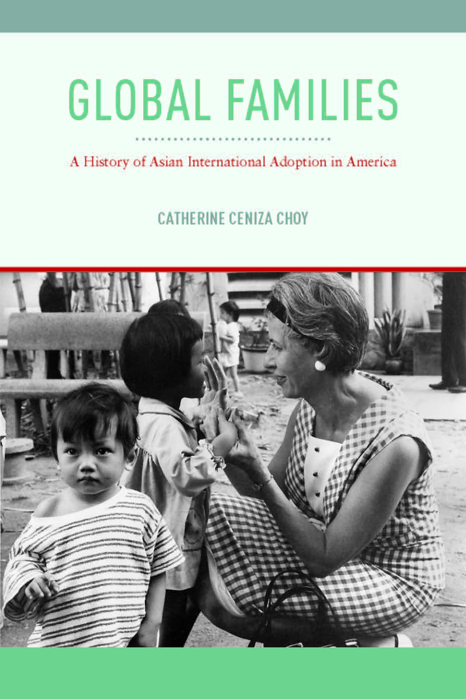 Image of book cover of Global Families by Catherine Choy
